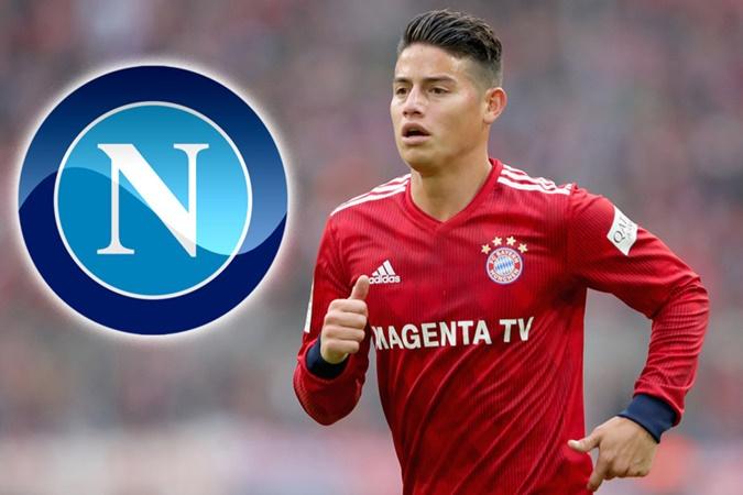 Choáng với số tiền khủng mà Napoli cần chi ra để có James Rodriguez