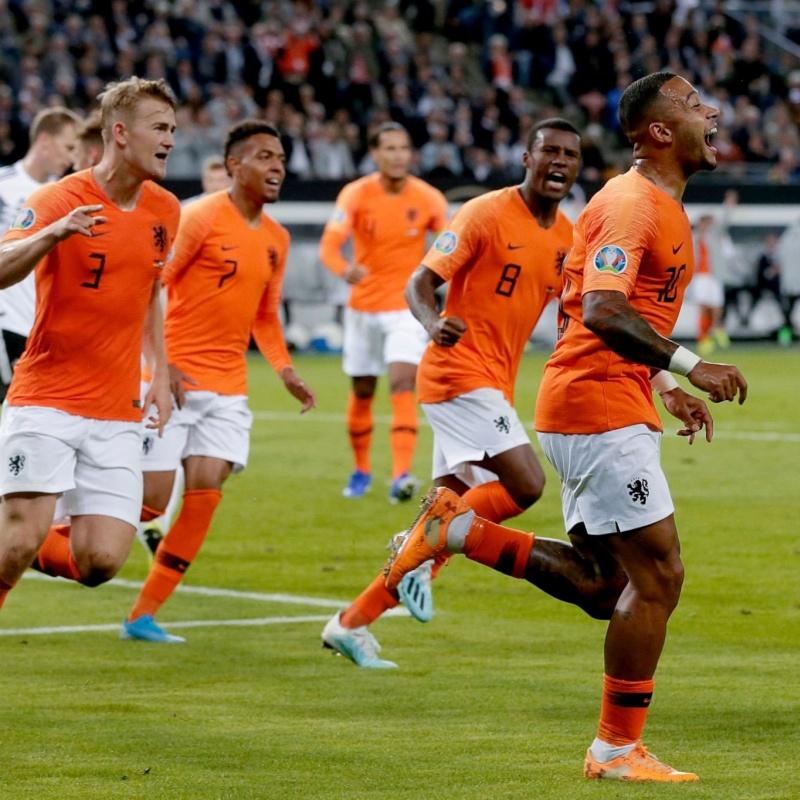 Chấm điểm Hà Lan: Depay xuất sắc nhất trận, xếp trên Van Dijk, De Jong