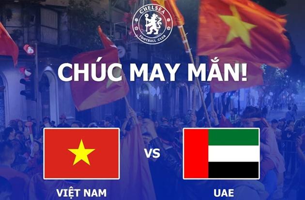 Chelsea tiếp tục làm điều đặc biệt với ĐT Việt Nam