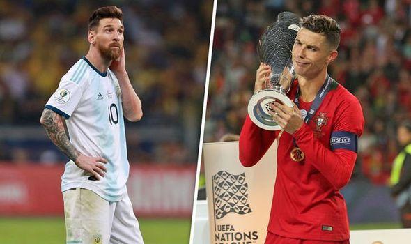Khán giả: 'Nếu Ronaldo chơi cho Argentina thay vì ai đó, họ đã vô địch World Cup và Copa America'