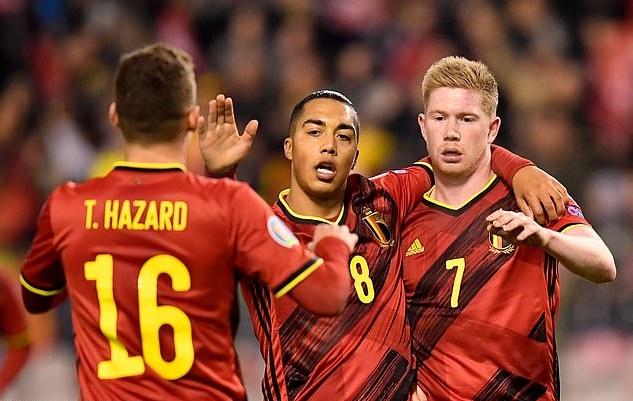 Chiến thắng hủy diệt, Bỉ đến VCK EURO 2020 với ngôi nhất bảng