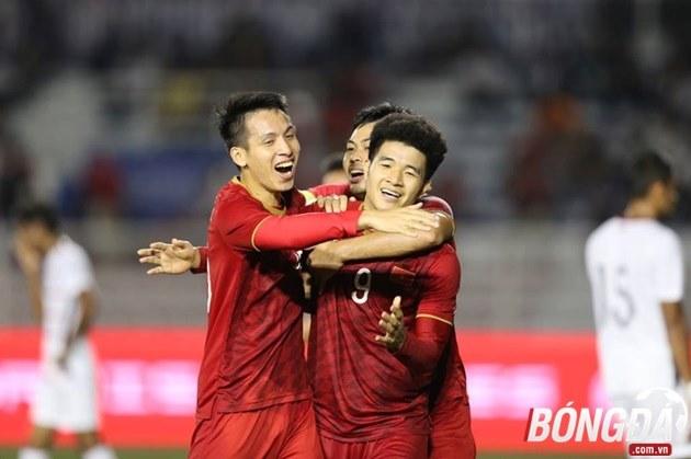 TRỰC TIẾP U22 Việt Nam 4-0 U22 Campuchia (Hiệp 2): Đức Chinh lập hattrick