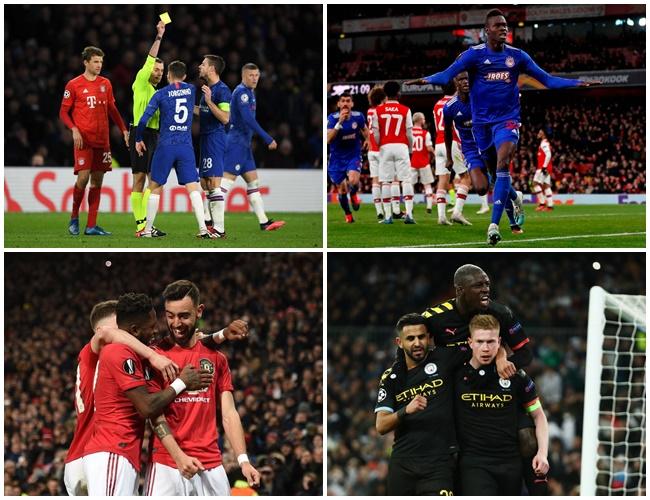 'Đại gia' Anh tại cúp châu Âu tuần này: Manchester mở hội; London khóc hận - kết quả xổ số đồng tháp