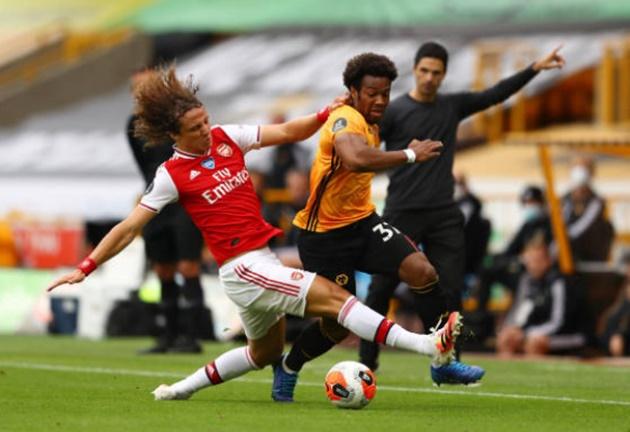10 con số ngày Arsenal khuất phục Wolves