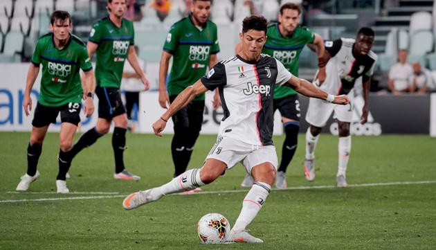 Ronaldo lập cú penalty, giúp Juve cầm hòa Atalanta - kết quả xổ số trà vinh