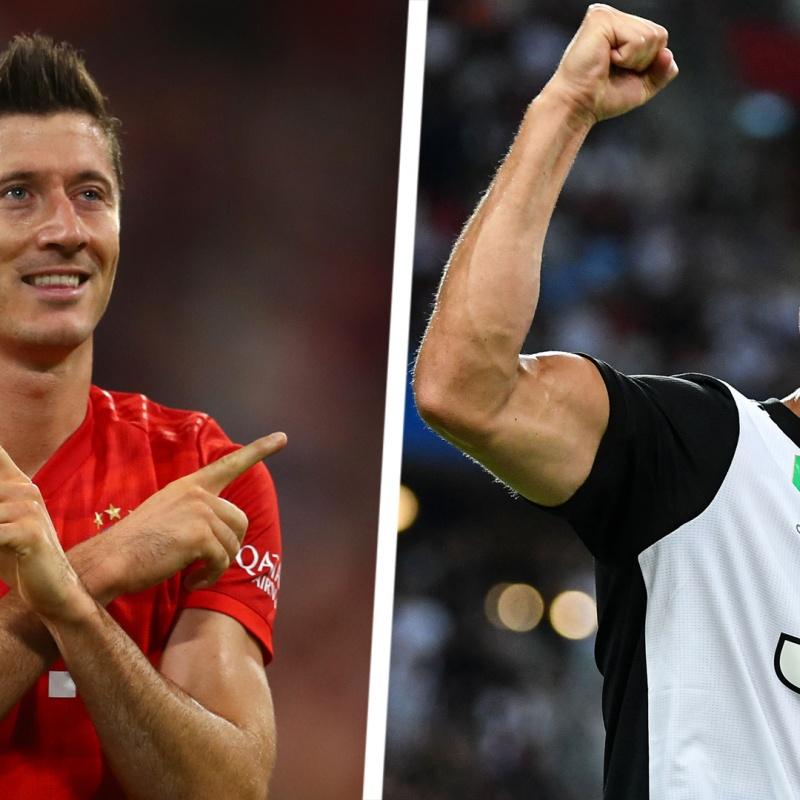 """Lewandowski: """"Tôi không quan tâm đến kỷ lục của Ronaldo"""""""