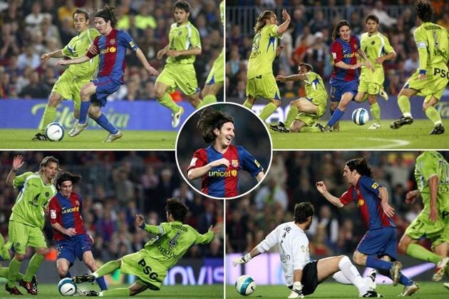 Những siêu phẩm solo mãn nhãn trong sự nghiệp của Messi
