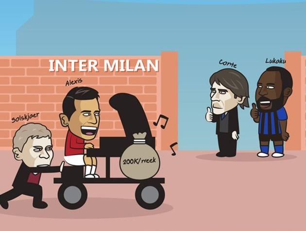 Cười vỡ bụng với loạt ảnh chế Sanchez chia tay Man United
