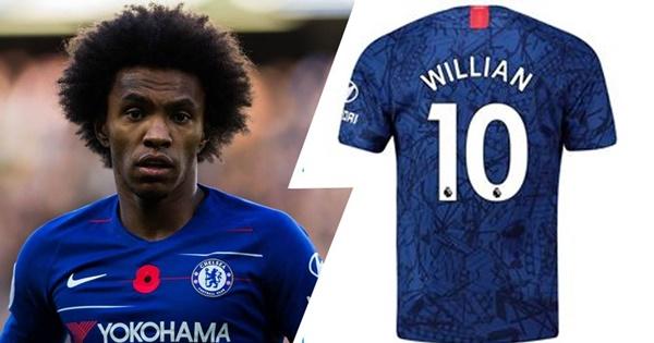Willian rời đi, ai sẽ là chủ nhân của chiếc áo số 10 tại Chelsea?