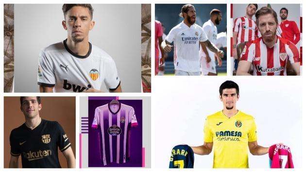 Cận cảnh áo đấu các CLB La Liga 2020/21: Barcelona đổi vận?