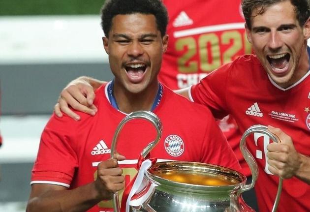 Gnabry vô địch Champions League, Arsenal lập tức phá vỡ im lặng