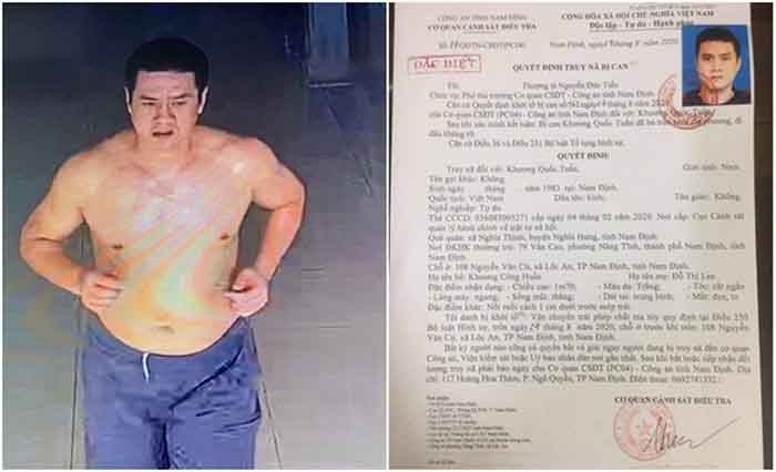 Cựu cầu thủ Nam Định bị truy nã đặc biệt vì tội danh liên quan ma túy