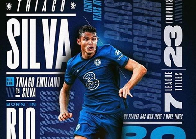 12 con số ấn tượng về Thiago Silva: Vua phân phối, kém Van Dijk 1 khoản