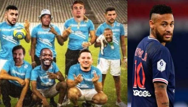 SỐC! 'Thêm dầu vào lửa', sao Marseille sỉ nhục Neymar là chó