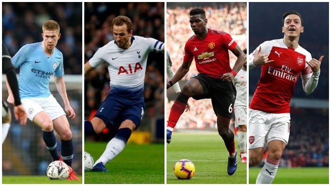 10 ngôi sao hưởng lương cao nhất Premier League