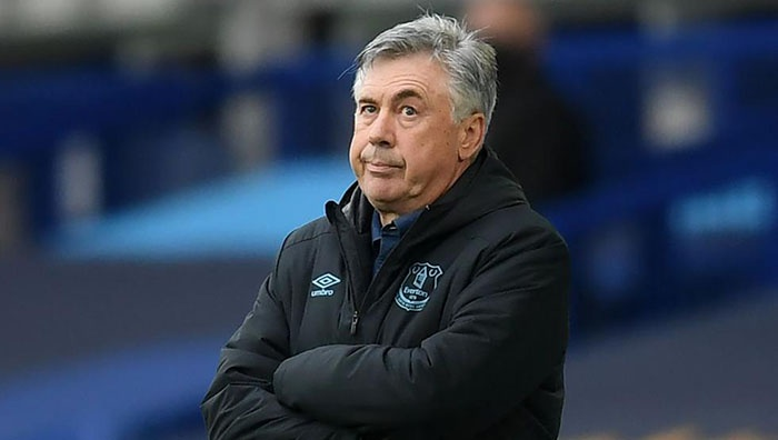 Lực lượng mỏng, Carlo Ancelotti muốn tậu tân binh thứ 4 cho Everton