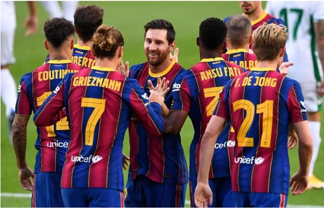 Griezmann nổ súng, Barca vững tin bước vào mùa giải mới - xs thứ ba