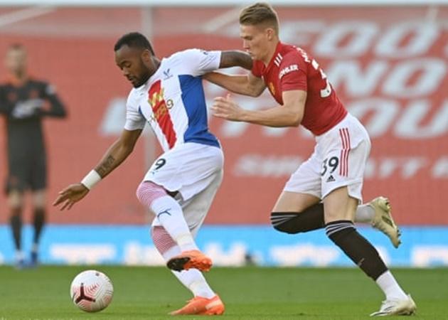 TRỰC TIẾP Man Utd 0-1 Palace: Thế trận giằng co