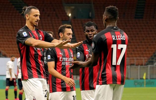 AC Milan 'toang': 1 cầu thủ nhiễm COVID-19, nguy cơ bị xử thua ở Europa League
