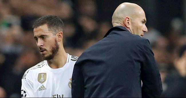 Eden Hazard tiếp tục bị Zidane loại khỏi đội hình Real Madrid