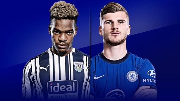 TRỰC TIẾP West Brom - Chelsea: Hiệp 1 bắt đầu!