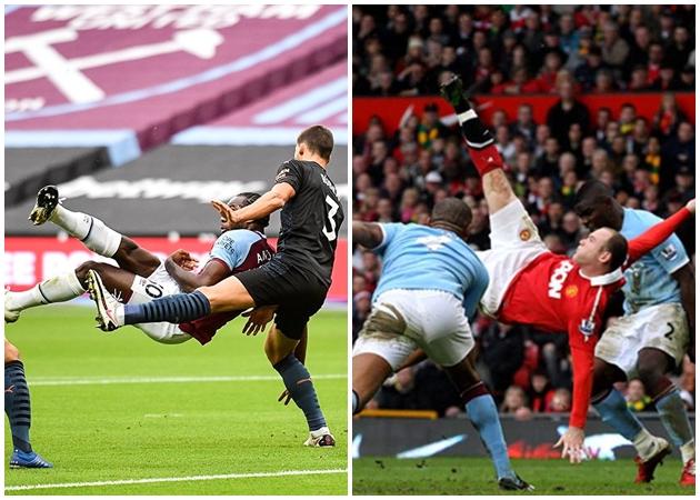 Xuất thần như Rooney, Antonio biến 'bom tấn' Man City thành 'khán giả'