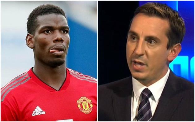 Gary Neville đưa ra dự đoán về tương lai của Pogba tại Man Utd