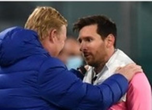 Thắng Juve, Koeman ôm Messi nói 1 điều duy nhất