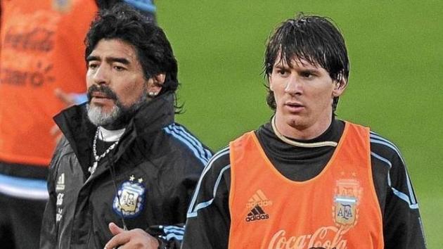Messi gửi thông điệp đầy cảm xúc đến tiền bối Diego Maradona