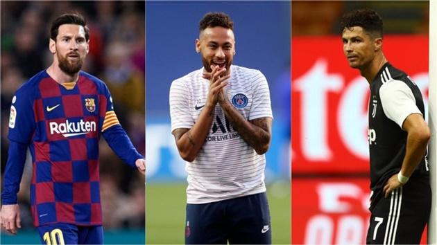 'Neymar là cái tên có đẳng cấp tiệm cận với Ronaldo và Messi'