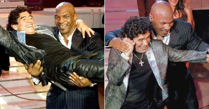 Lời chia tay cảm động của Mike Tyson đến Maradona