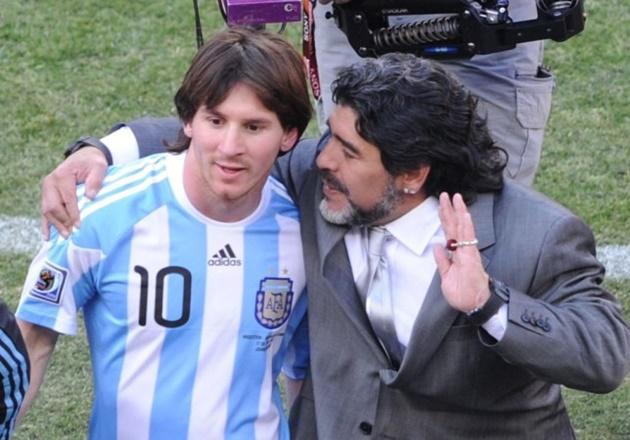 Maradona ra đi vĩnh viễn, Messi gửi thông điệp 'bất diệt'