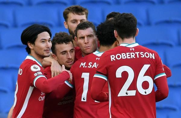 Chấm điểm Liverpool trận Brighton: 'Đôi cánh' gây thất vọng - xổ số ngày 24032020