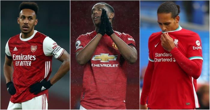 6 cầu thủ thất vọng nhất trong nhóm Big Six kể từ đầu mùa