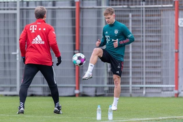 Joshua Kimmich đem đến tin vui cho Bayern Munich