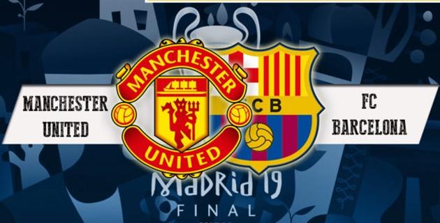 Chạm trán với MU, Barca quyết tâm phá bỏ lời nguyền Champions League