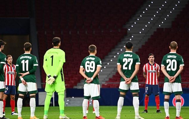 Hòa tẻ nhạt Lokomotiv Moscow, Atletico bị Bayern bỏ xa trên BXH