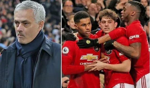 Man Utd đánh bại Tottenham, Mourinho lại đúng về 2 cầu thủ Quỷ đỏ