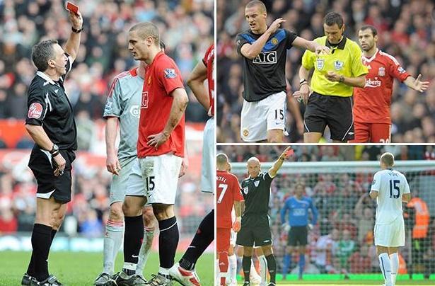 Sau tất cả, Vidic trải lòng về 4 tấm thẻ đỏ với Liverpool