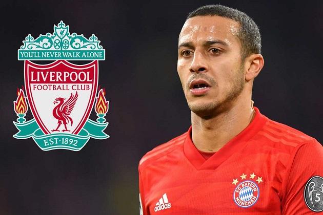 Rõ thời điểm Liverpool tiến hành đàm phán vụ Thiago Alcantara