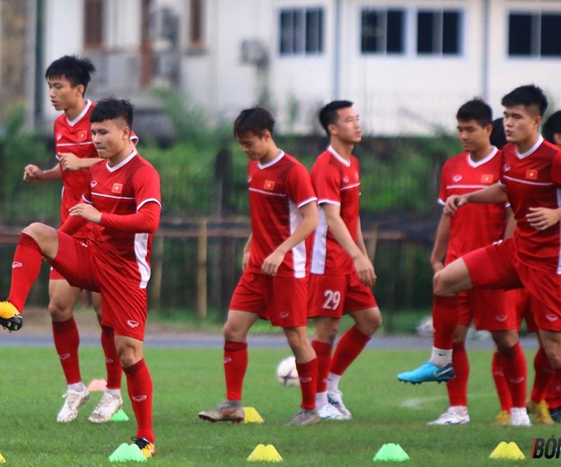 Thầy trò HLV Park Hang-seo tự tin đánh bại Myanmar giành ngôi nhất bảng A -