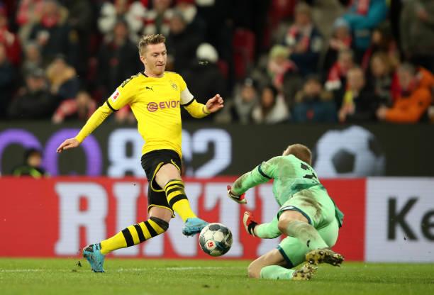 Marco Reus ghi bàn, Dortmund chỉ còn cách vị trí đầu bảng 2 điểm - kết quả xổ số quảng nam
