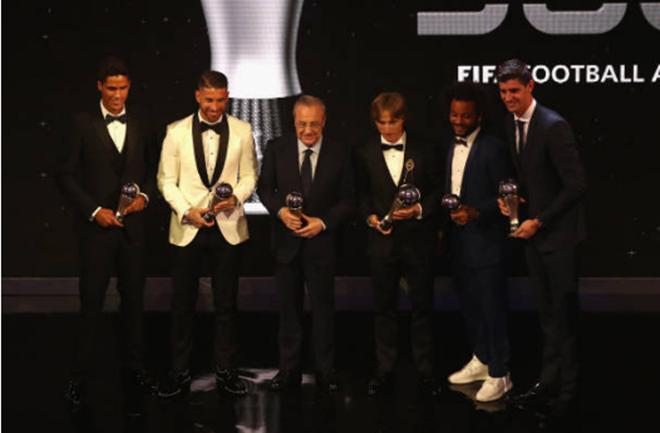 Đội hình xuất sắc nhất năm của FIFA - Bóng Đá