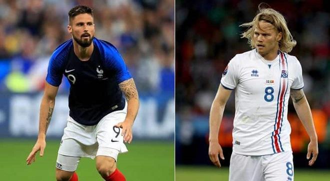 02h00 ngày 12/10, Pháp vs Iceland - Bóng Đá