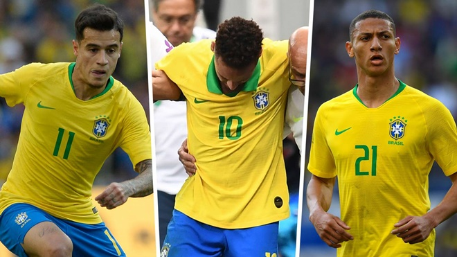 Coutinho or Richarlison? How Brazil will line up at Copa America without Neymar - Bóng Đá