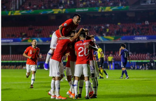 ảnh sau trận Nhật Bản vs Chile - Bóng Đá
