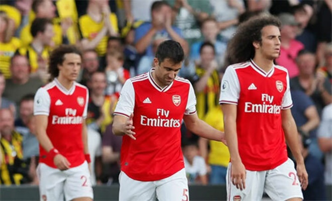 Arsenal's capitulation against Watford was a reminder of their defensive flaws - Bóng Đá