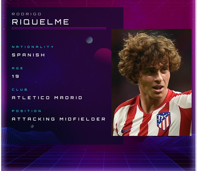 Rodrigo Riquelme: Atletico Madrid academy star ready to step into Griezmann's shoes - Bóng Đá