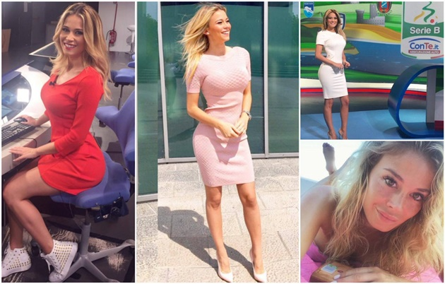 Glamorous Serie A presenter Diletta Leotta opens up about sexist chants, meeting Mourinho and those stolen nude pictures - Bóng Đá