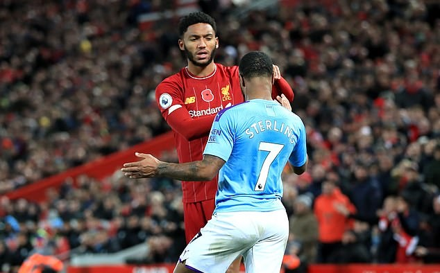 Raheem Sterling AXED by Gareth Southgate after trying to grab Joe Gomez by the neck in England canteen - Bóng Đá